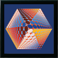 "Bild ""Tupa3"" (1970er Jahre), gerahmt"