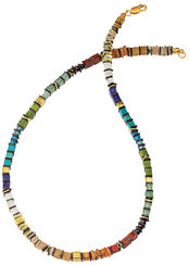 "Collier ""Rainbow Cubes"""