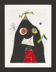 """Bild """"Composition I: Four Colours Couple the World (Quatre Colors Aparien el Món)"""" (1975)"""
