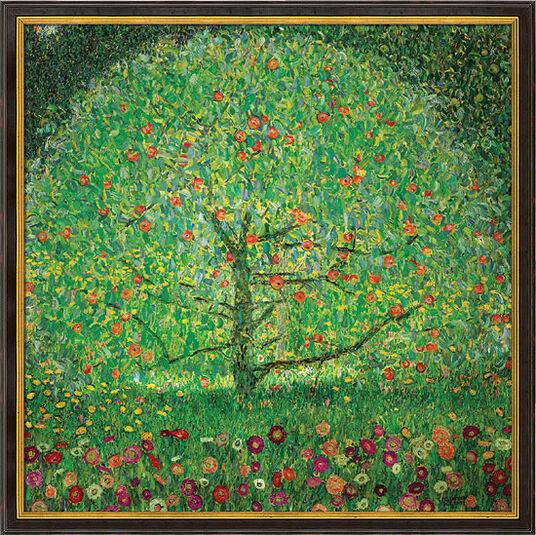 "Gustav Klimt: Bild ""Apfelbaum I"" (1912), gerahmt"