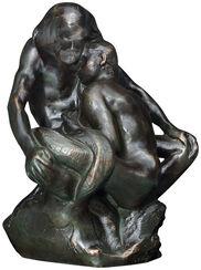 "Sculpture ""Glaucus"", bronze artedition"