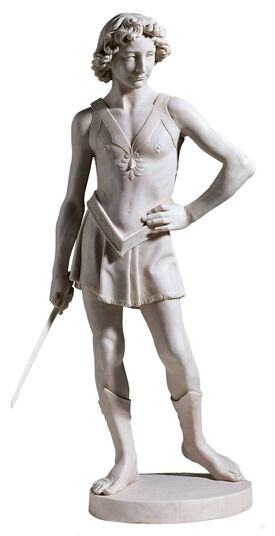 "Sculpture ""David"", art castings"