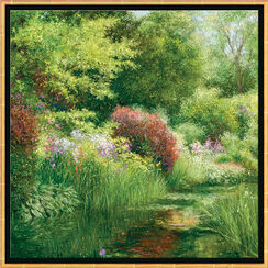Painting 'The Month of May in Giverny'