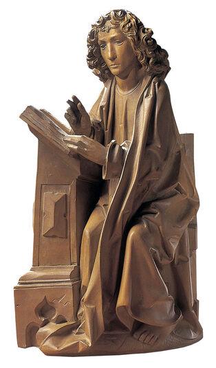 "Tilman Riemenschneider: Sculpture ""Evangelist John"" (Original Size), Arificial Casting"
