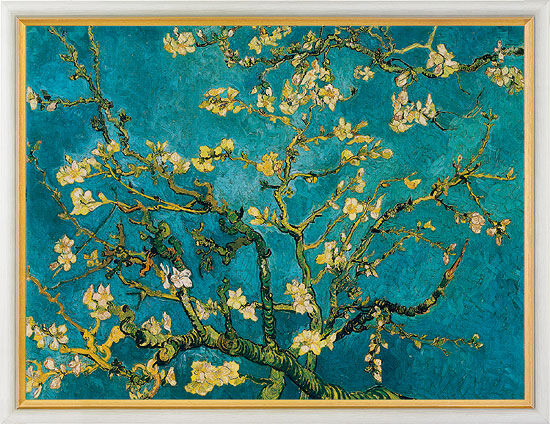 "Painting ""Blossoming Almond Tree"" (1890)"