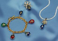 """Russian Tsar Egg Collection """"Anastasia"""", 3 Pieces"""
