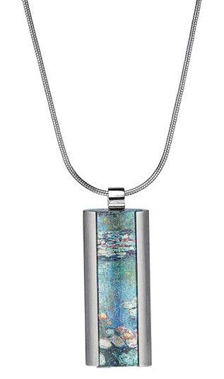 """Claude Monet: Collier """"Seerosen"""""""