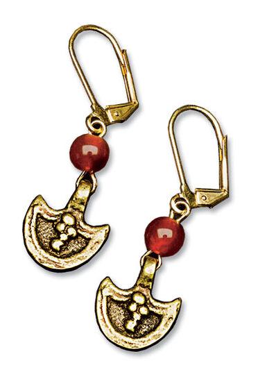 """Petra Waszak: Drop Earrings """"Princess Medea"""""""