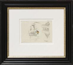 """Bild """"Zwei Segelboote"""" (1935) (Unikat)"""