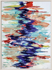 "Bild ""Fluss 1"" (2013) (Unikat)"