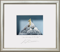 "3D-Painting ""On the way to the top"", Framed"