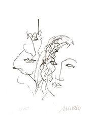 """Bild """"Orpheus und Eurydike"""" (2015) - inkl. Buch, ungerahmt"""