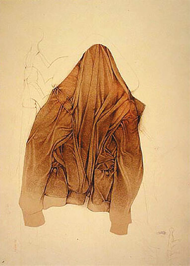 "Bruno Bruni: Picture ""Still Life Jacket"" (1987), unframed"