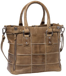 "Leather Shopper ""Mocca"""