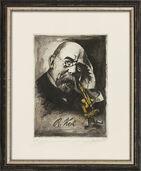 """Bild """"Robert Koch"""", gerahmt"""
