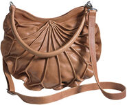 "Handtasche ""Lotus"", braune Version"