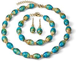 """Jewelry Set """"Murano"""""""