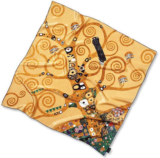 "Gustav Klimt: Silk scarf ""Tree of Life"""