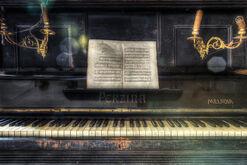 """Bild """"Klavier"""""""