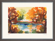 "Painting ""Autumn Sun"""