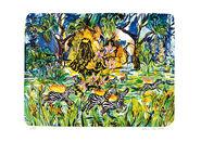 """Bild """"Zebras. Brennend. Rennend"""" (2008), ungerahmt"""