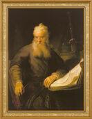 """Bild """"Der Apostel Paulus"""" (1633), gerahmt"""