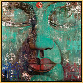 "Picture  ""Bouddha turquoise"""