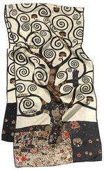 "Silk Shawl ""Tree of Life"""