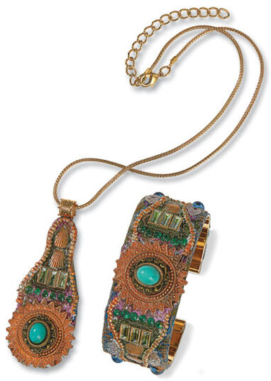 "Petra Waszak: Jewelry Set ""Baroque"