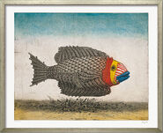 """Picture  """"The Trojan Fish"""""""
