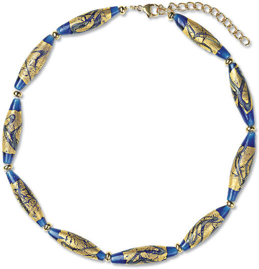 "Petra Waszak: Necklace ""Gold River"""