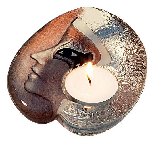 "Mats Jonasson: Glass candleholder ""Athena"""