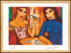 """""""Two Women in a Café"""""""