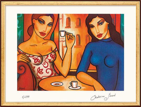 """Ekaterina Moré: """"Two Women in a Café"""""""