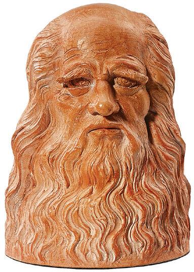 "Leonardo da Vinci: ""Bust"", art casting edition"