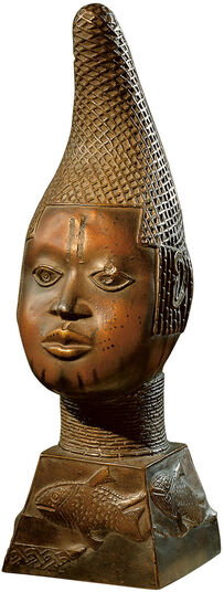 Portrait Head of Oba