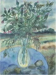 """Bild """"Disteln"""" (2002)"""