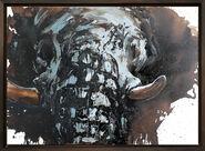 "Bild ""Elefant 58"" (2015) (Unikat)"