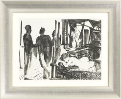 "Painting ""Without Title"" (1954), Framed"