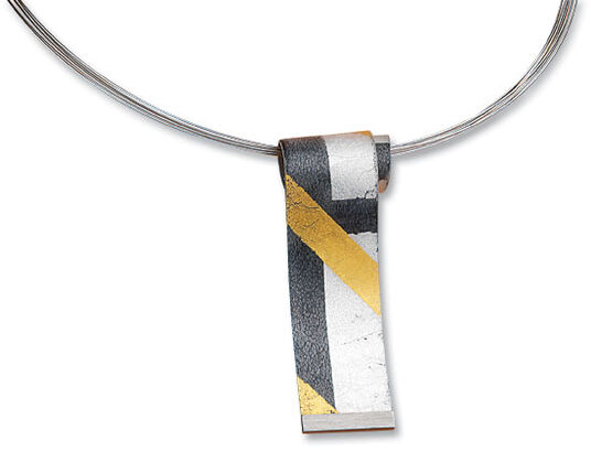 "Kreuchauff-Design: Collier ""Black and Gold"""