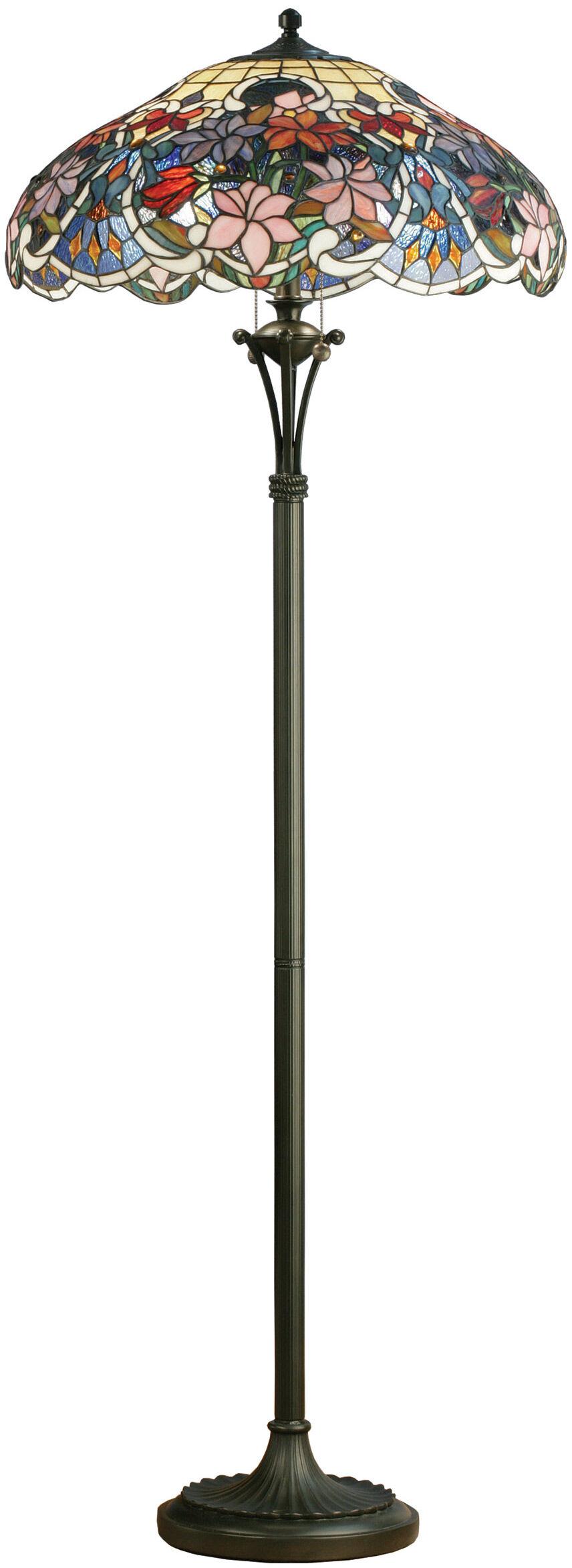 tiffany stehlampe clematis die waldrebe ars mundi. Black Bedroom Furniture Sets. Home Design Ideas