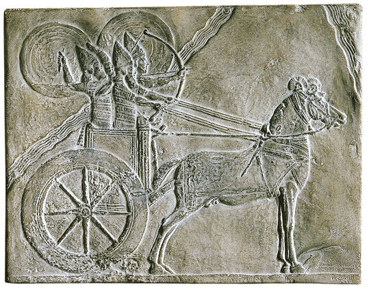 Chariot with a Warrior from Nineveh