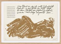 """Bild """"Huldigung an Hafez – Motiv 6"""" Einzelblatt aus dem Werkzyklus (2015/16)"""