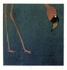"""Bild """"Flamingo"""" (2008), ungerahmt"""