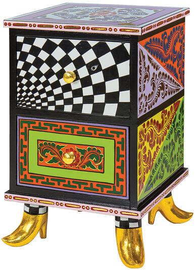 "Thomas Hoffmann / Tom's Drag: Kommode ""Colourful Cabinet"""