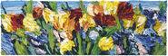 """Bild """"Blumenbeet im Sonnenschein"""" (2015) (Unikat)"""