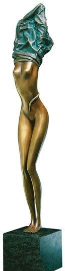 """Bruno Bruni: Skulptur """"Zopf der Aphrodite"""", Bronze"""