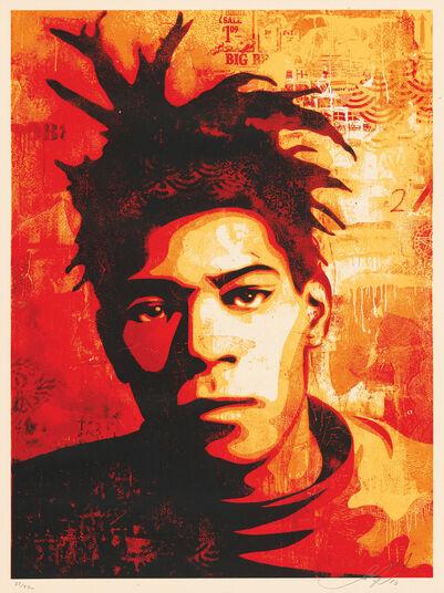 """Shepard Fairey: Bild """"Jean-Michel Basquiat"""" (2010)"""