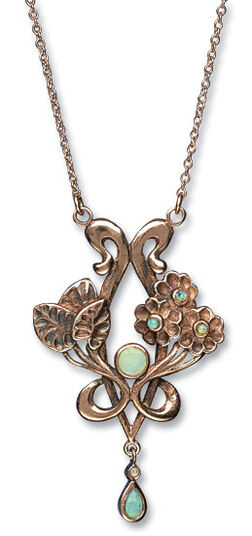 "Necklace ""Plant"""