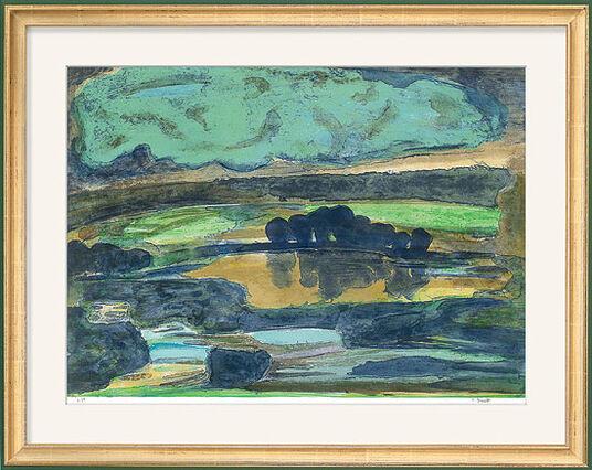 """Petra Brandt: Bild """"Irische Landschaft I"""" (2004)"""